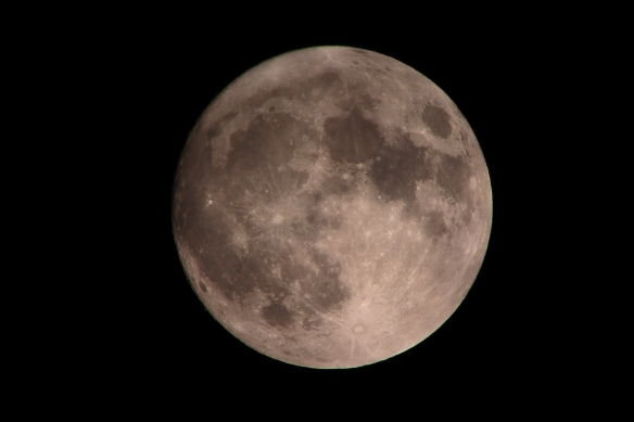 Super Moon as seen on Sunday, Nov. 13, 2016.