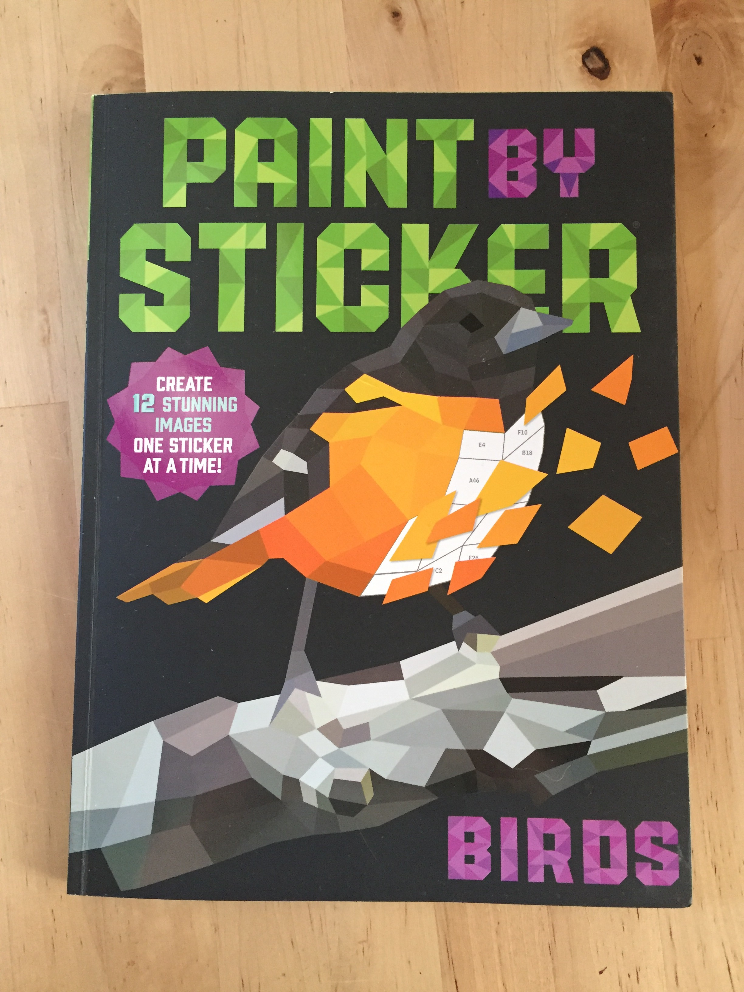 New way to make your own bird art: Paint by Sticker | Birds of New ...